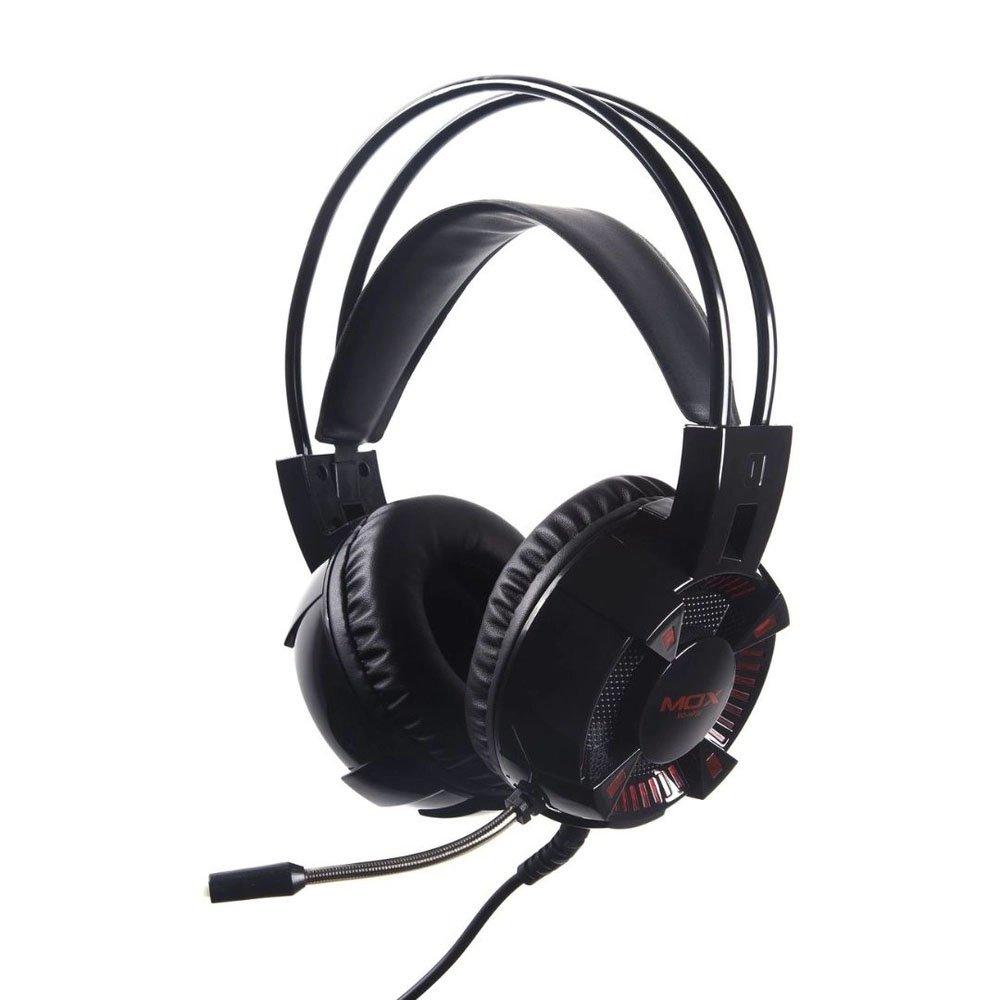fone de ouvido com microfone gamer p2usb led mox mo hp50 preto 50504 2000 202000
