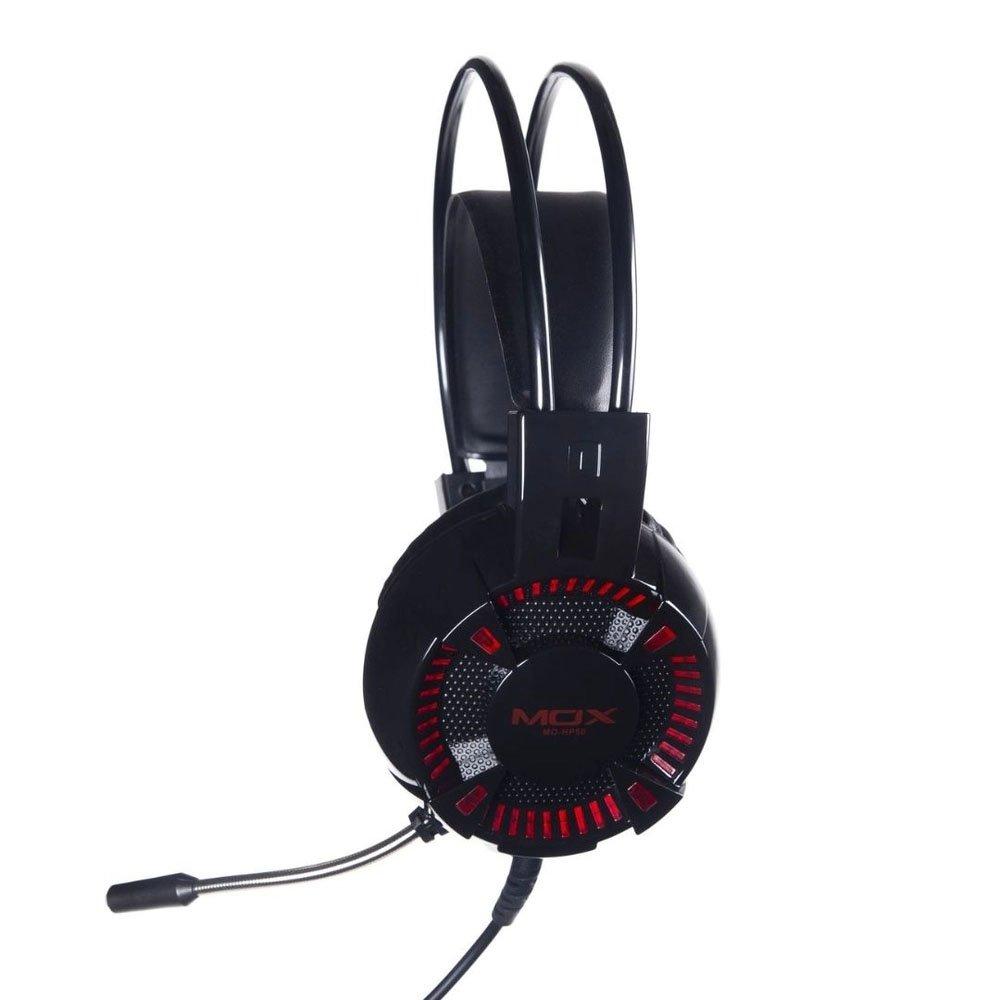 fone de ouvido com microfone gamer p2usb led mox mo hp50 preto 50504 2000 202001