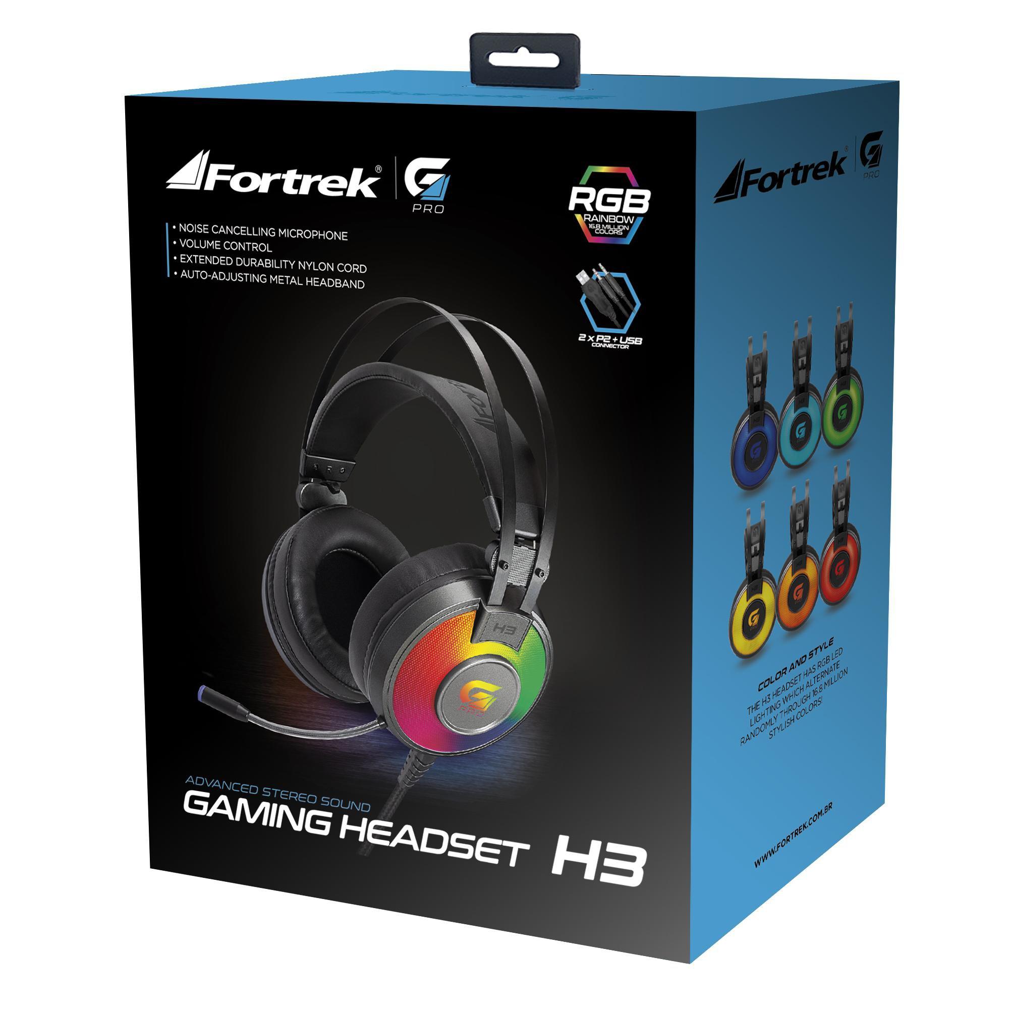 fone de ouvido disponivel somente aqui fortrek h3 cinza rgb g pro headset gamer com microfone 47318 2000 197241 1