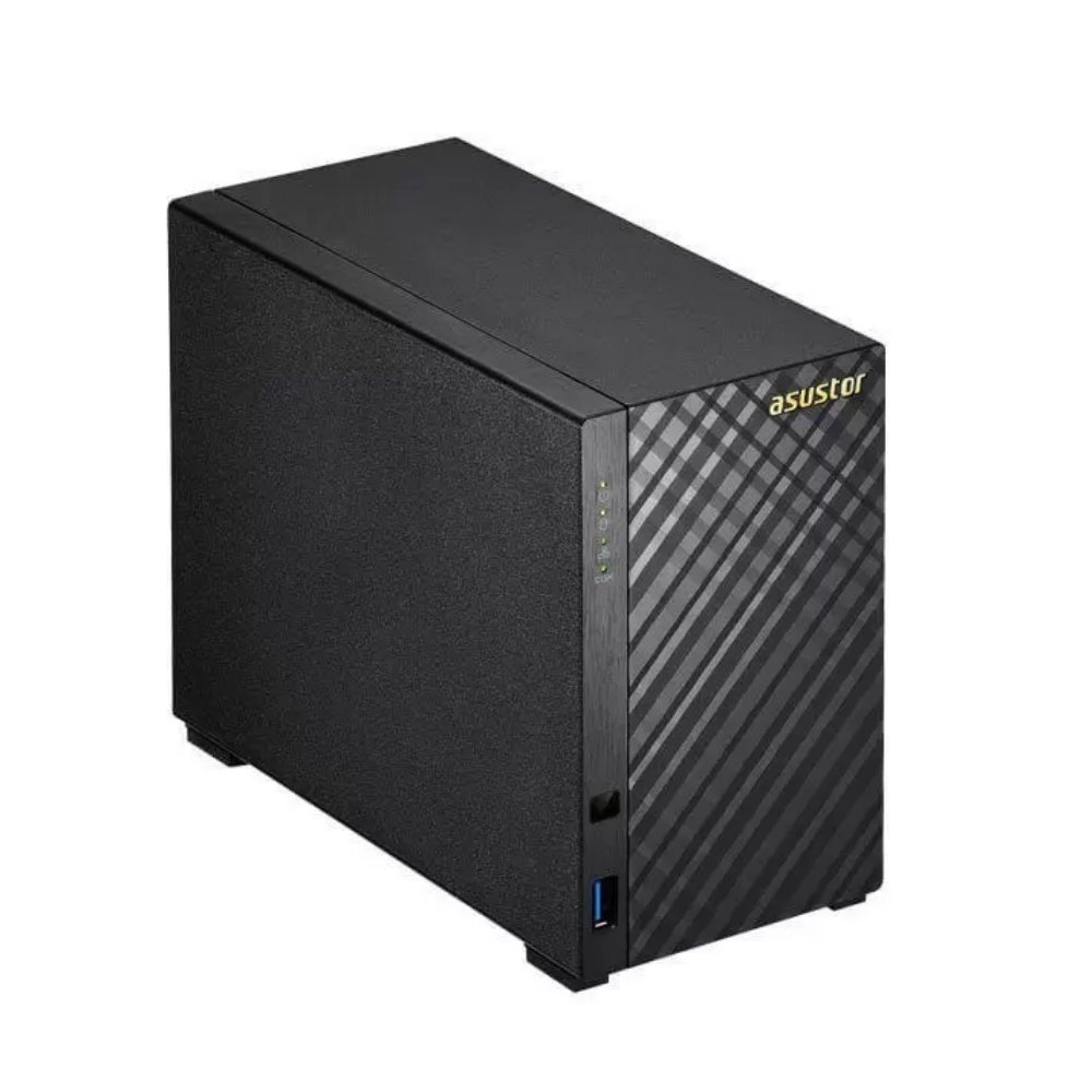sistema de backup nas as1002t v2 marvel armada 385 16 ghz 512mb ddr3 torre 2 baias 50713 2000 204248