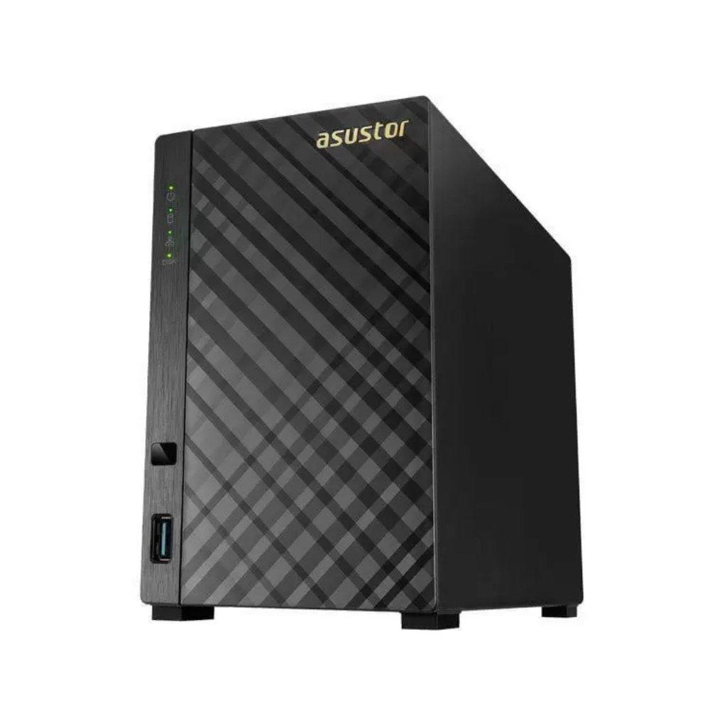 sistema de backup nas as1002t v2 marvel armada 385 16 ghz 512mb ddr3 torre 2 baias 50713 2000 204250