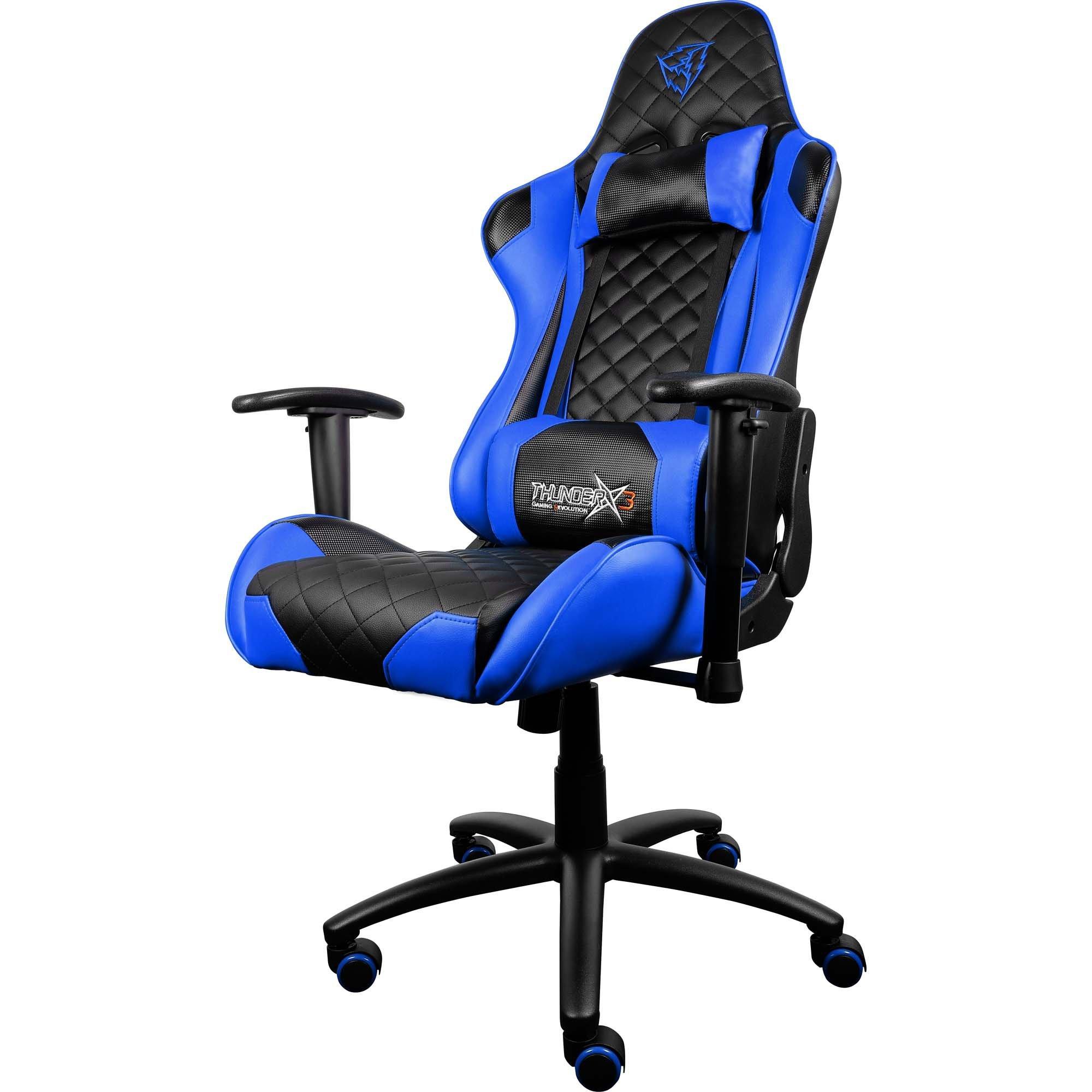 cadeira gamer aproveite enquanto durar o estoque preta azul thunderx3 profissional tgc12 43831 2000 191593 1
