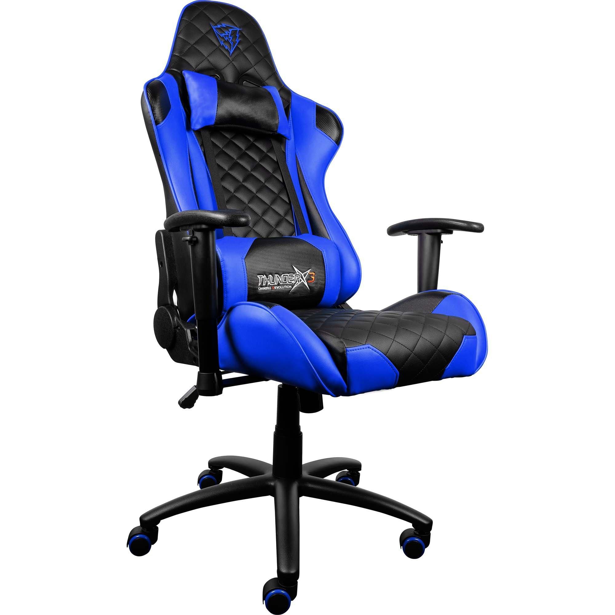 cadeira gamer aproveite enquanto durar o estoque preta azul thunderx3 profissional tgc12 43831 2000 191594 1