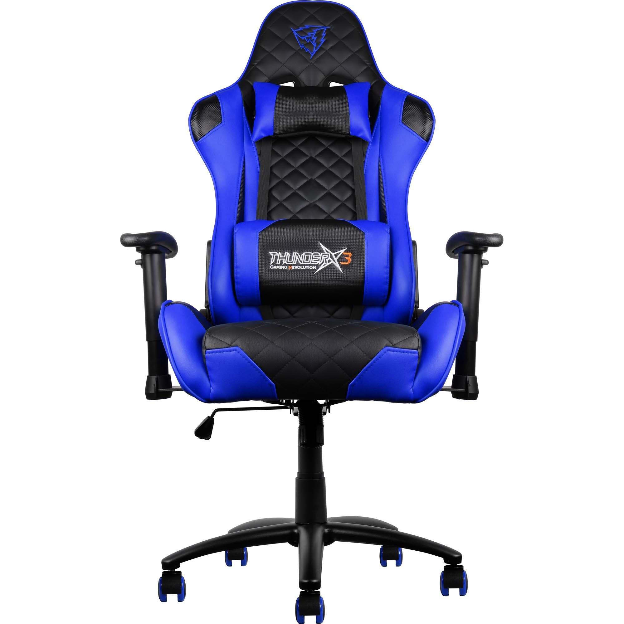 cadeira gamer aproveite enquanto durar o estoque preta azul thunderx3 profissional tgc12 43831 2000 191595 1