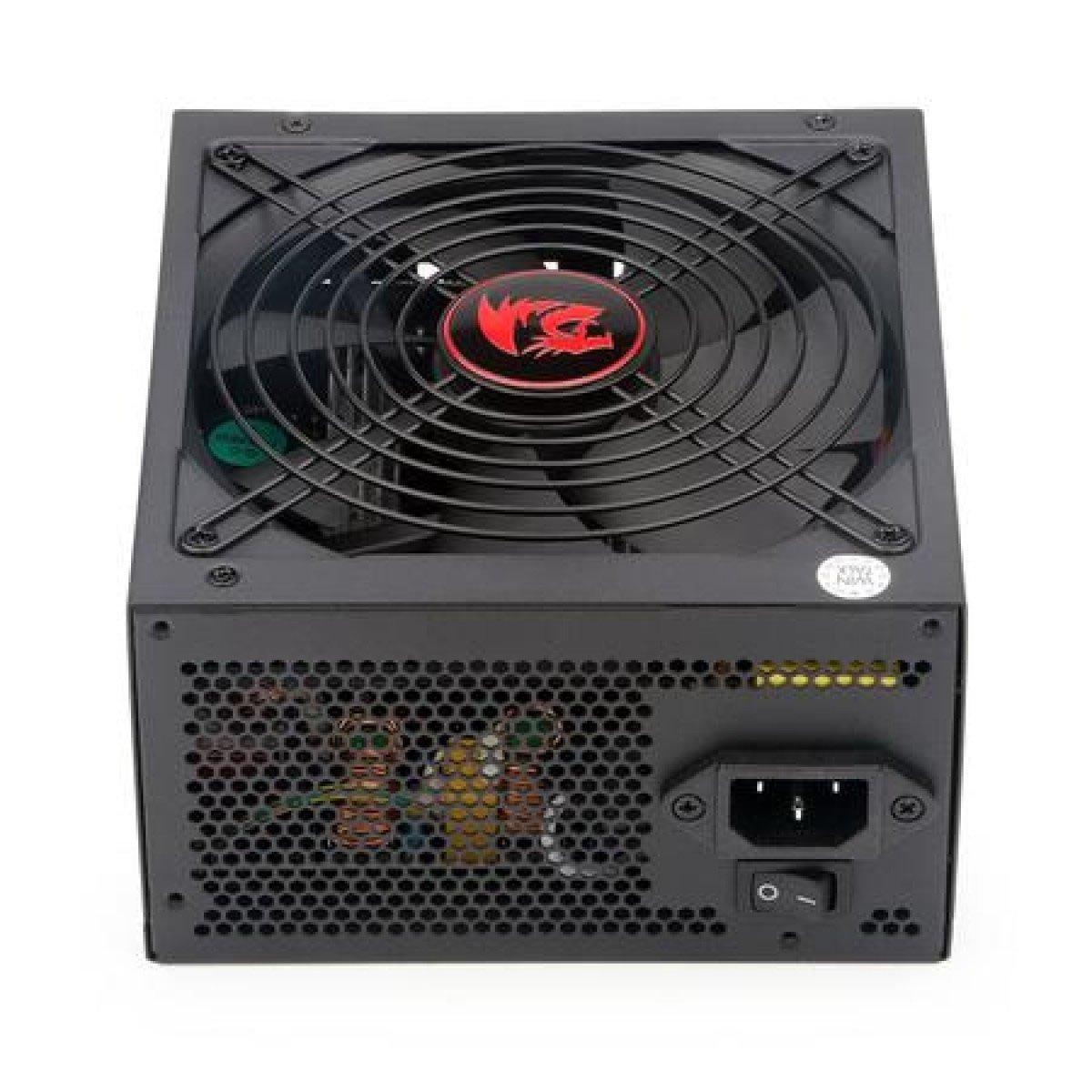 fonte atx gamer 600w redragon gc ps003 bronze modular 80 plus 50738 2000 203132 1