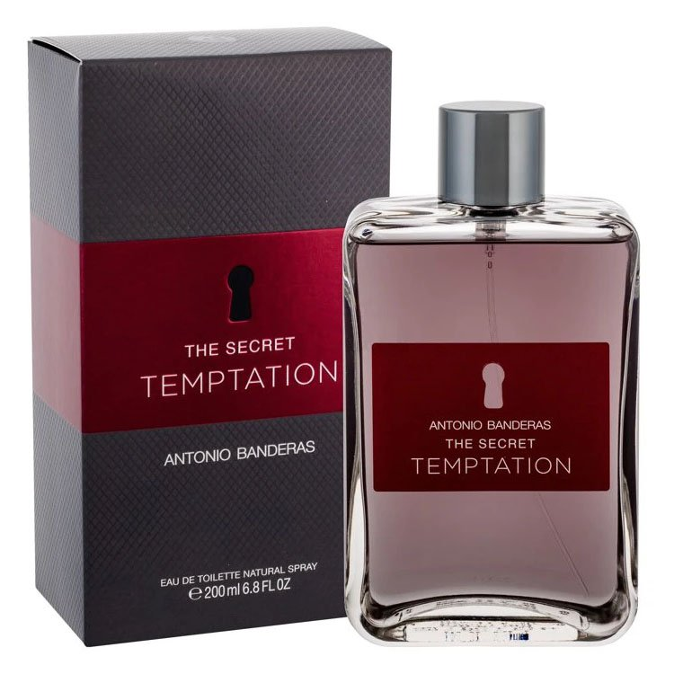 perfume antonio banderas the secret temptation masculino edt 200 ml 50748 2000 202371 1