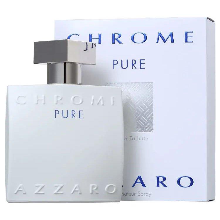 perfume azzaro chrome pure masculino edt 100 ml 50800 2000 202398 3