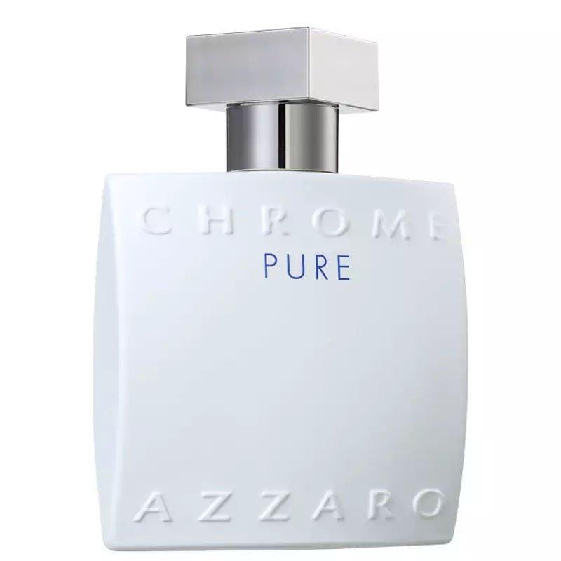 perfume azzaro chrome pure masculino edt 100 ml 50800 2000 202399 2