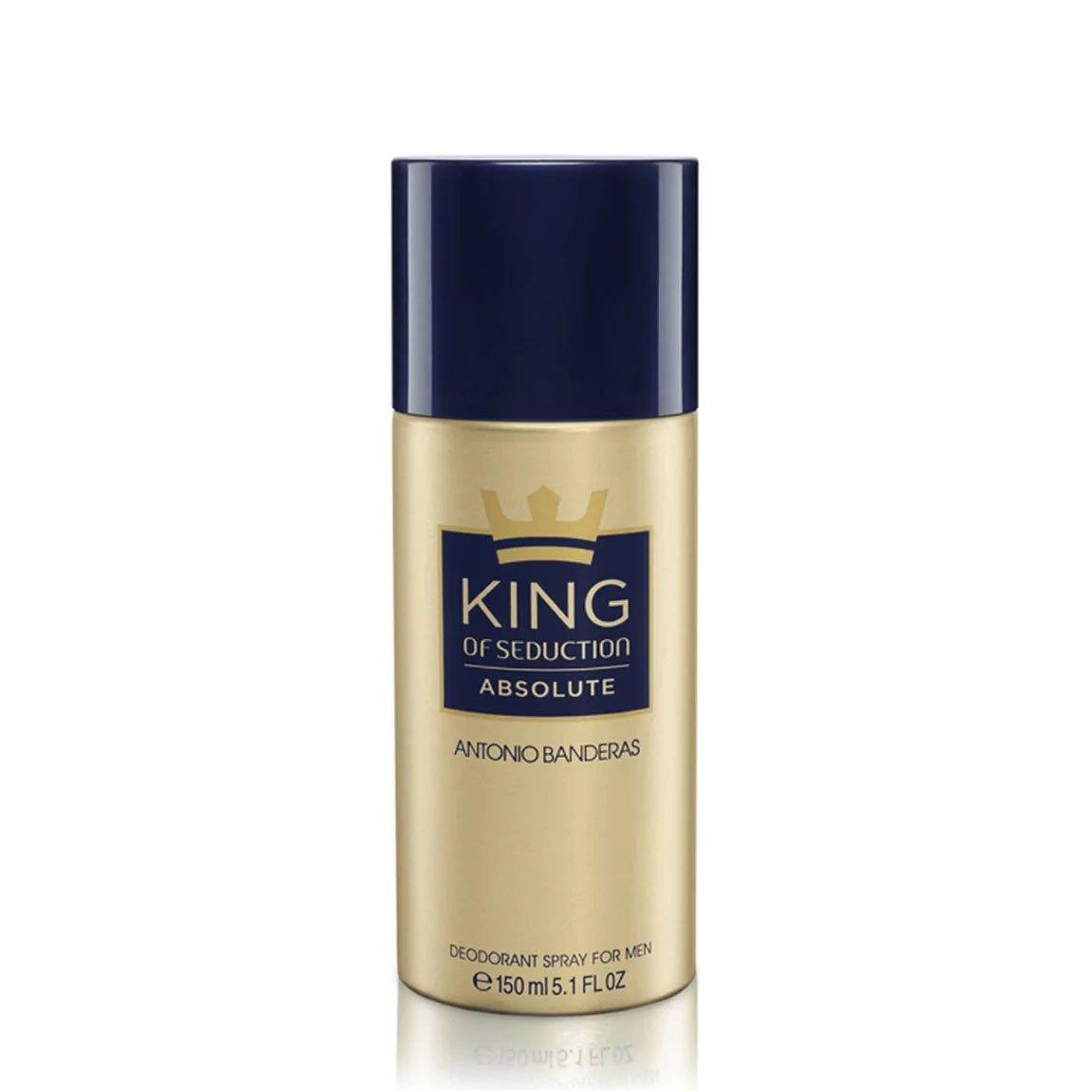 perfume desodorante antonio banderas king of seduction absolute 150 ml 50751 2000 202379 1