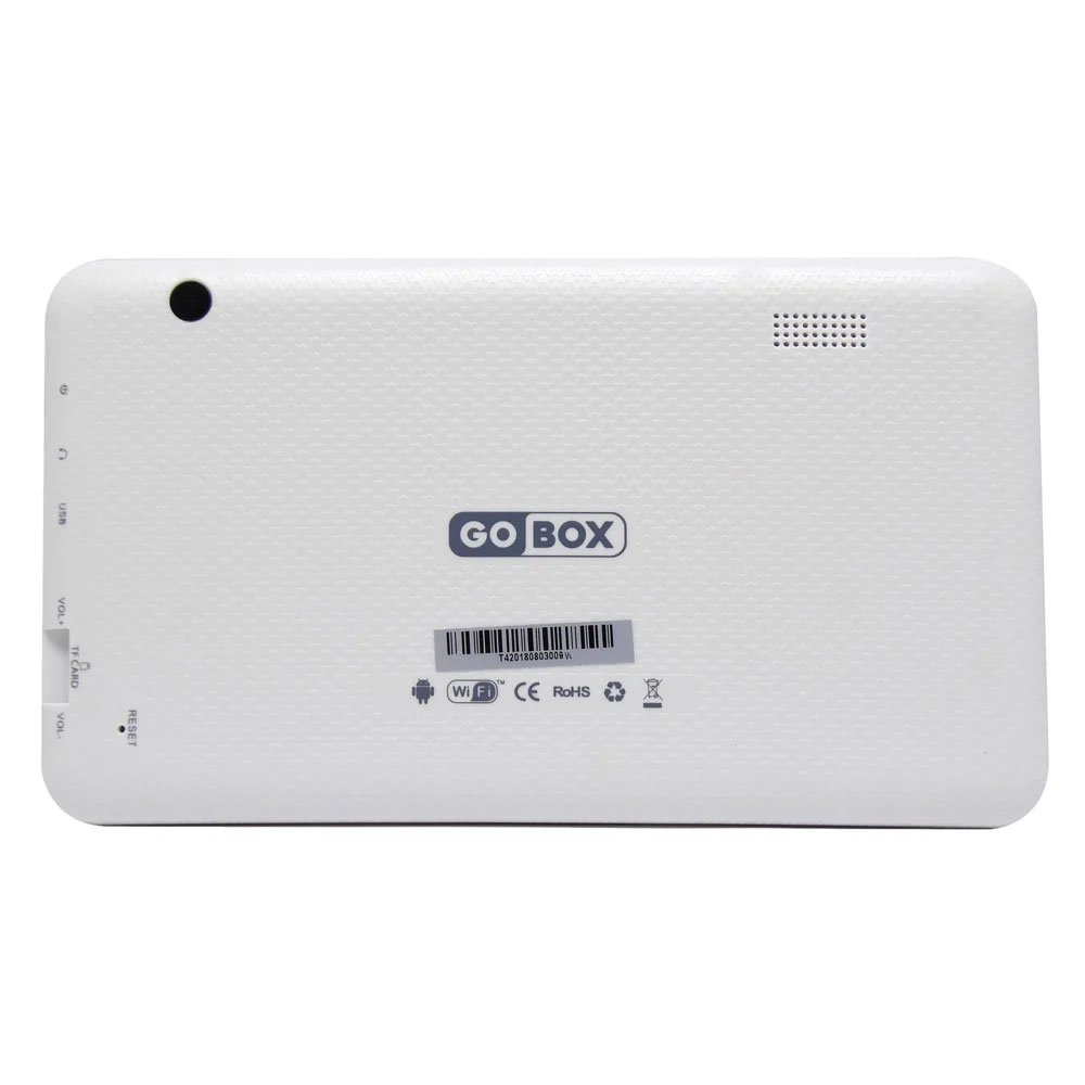 tablet gobox t4 quadcore 1gb 8gb 8 polegadas branco 50821 2000 202535 2