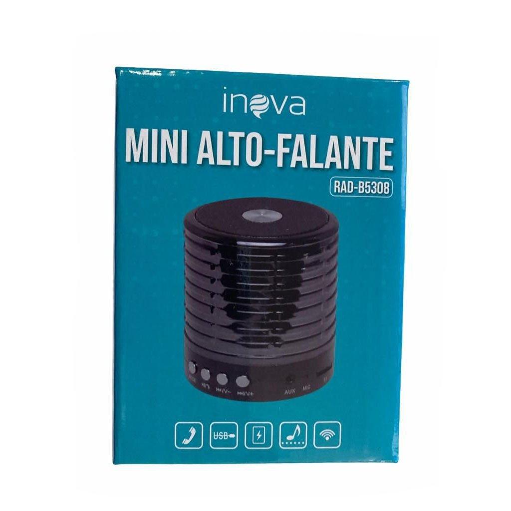 caixa de som bluetooth inova rad b5308 prata 50922 2000 203083