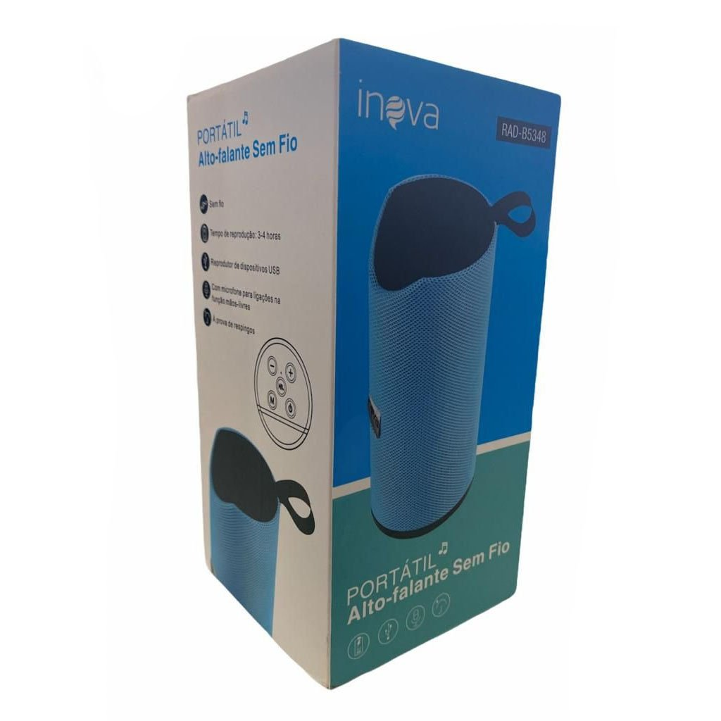 caixa de som bluetooth inova rad b5348 camuflada 50916 2000 203079