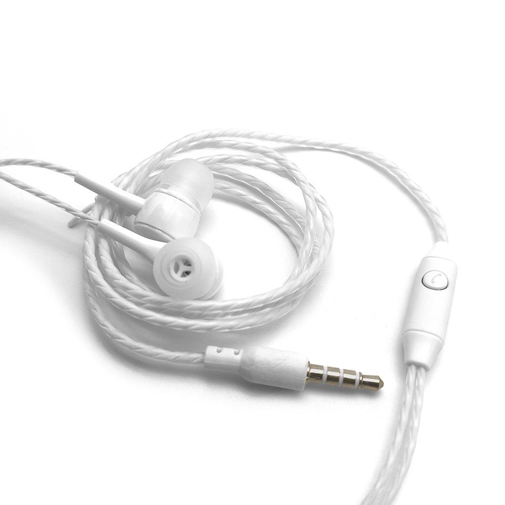 fone de ouvido auricular com microfone ep 02wh c3plus branco 50697 2000 202786