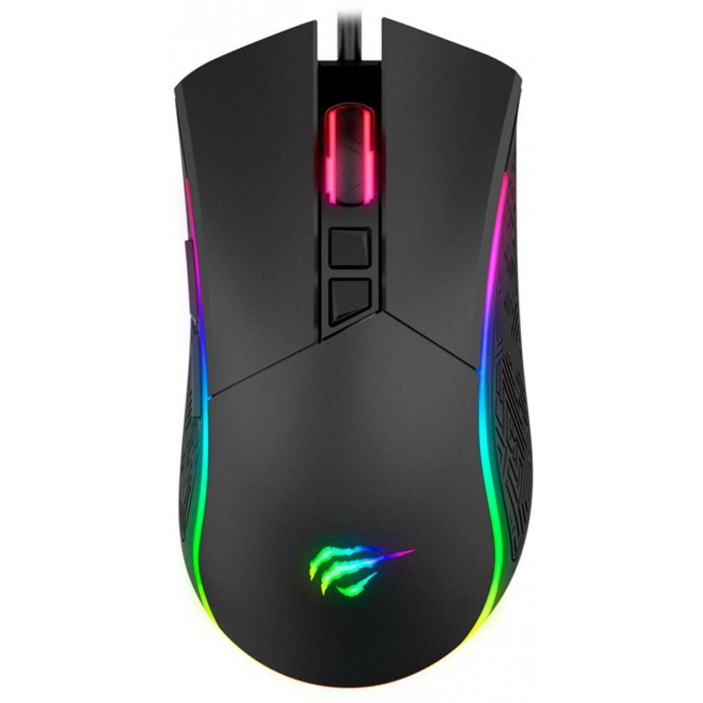 mouse usb gamer havit hv ms1001 gaming usb rgb preto 50912 2000 202780