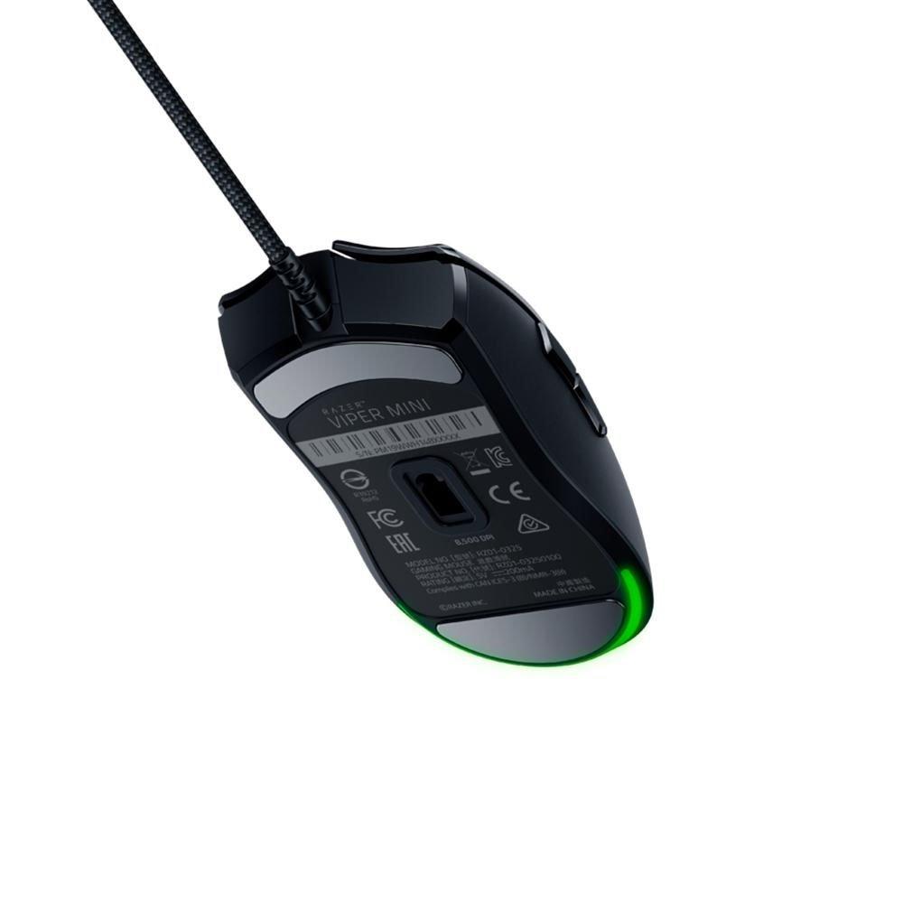 mouse usb gamer razer viper mini chroma rz01 03250100 r3u usb preto 50927 2000 202770