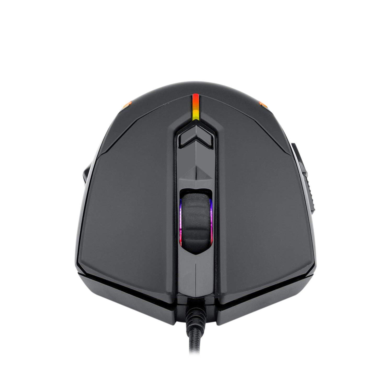 mouse usb gamer redragon centrophorus 2 m601 rgb 7200dpi preto 50953 2000 202851