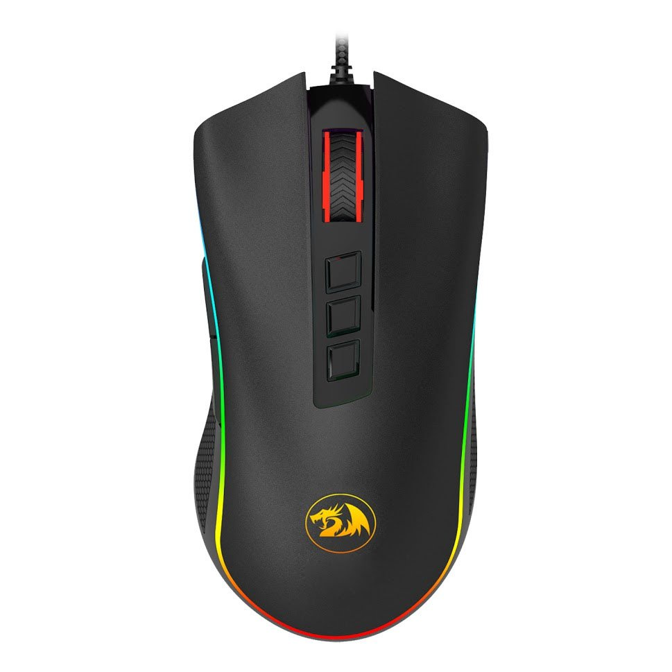 mouse usb gamer redragon cobra m711 rgb gaming 1000dpi preto 50954 2000 202948