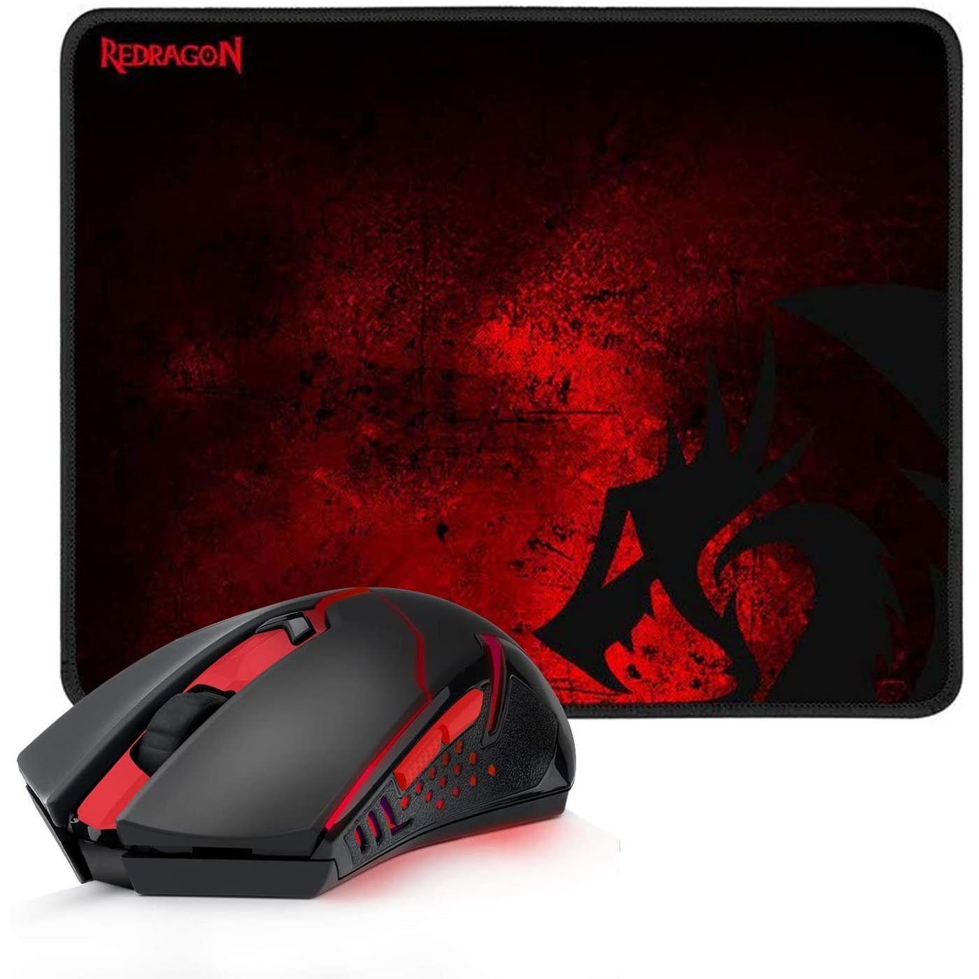 mouse usb gamer redragon m601 wl ba 2400dpi preto mouse pad 50957 2000 202866