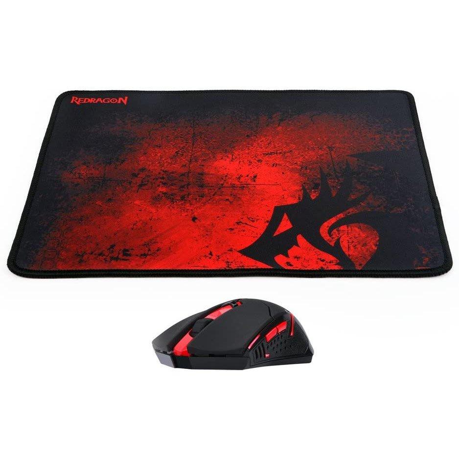 mouse usb gamer redragon m601 wl ba 2400dpi preto mouse pad 50957 2000 202868