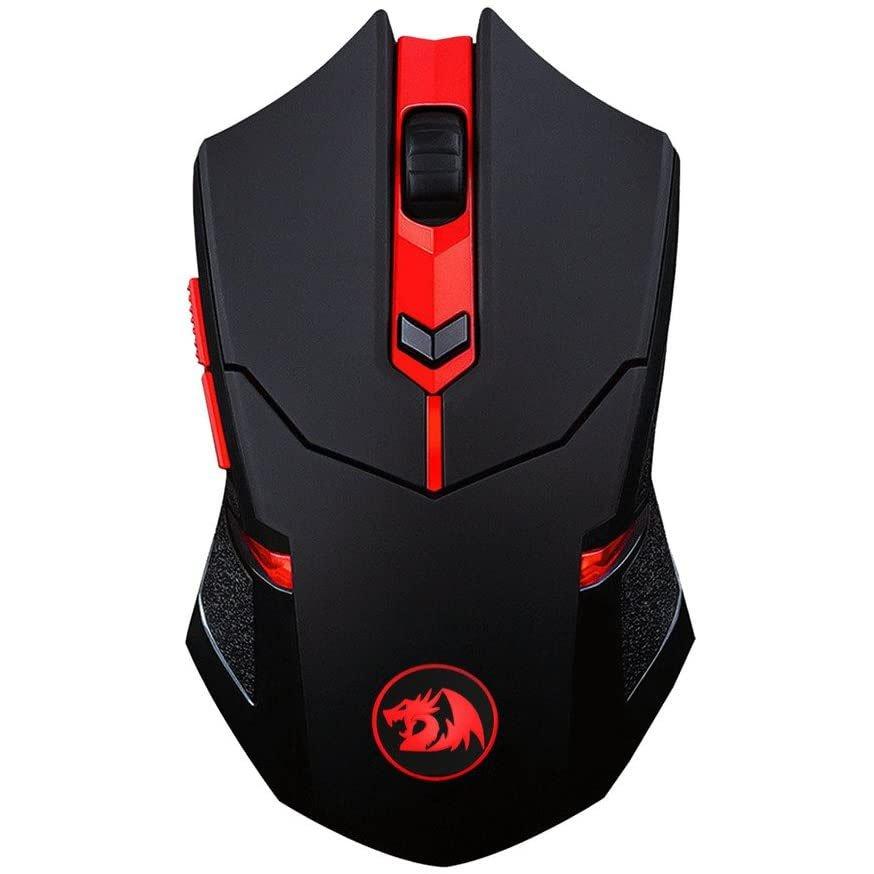 mouse usb gamer redragon m601 wl ba 2400dpi preto mouse pad 50957 2000 202870