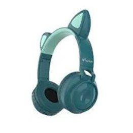 fone de ouvido bluetooth sem fio gato fon 7426 inova azul 51011 2000 203031 1