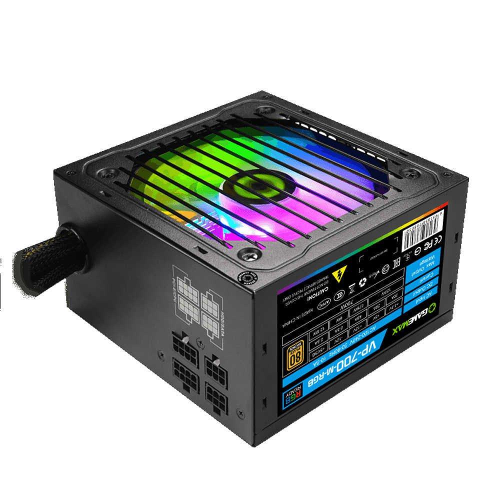 fonte atx gamer 700w gamemax rgb vp700m bronze semi modular 50884 2000 202700 1