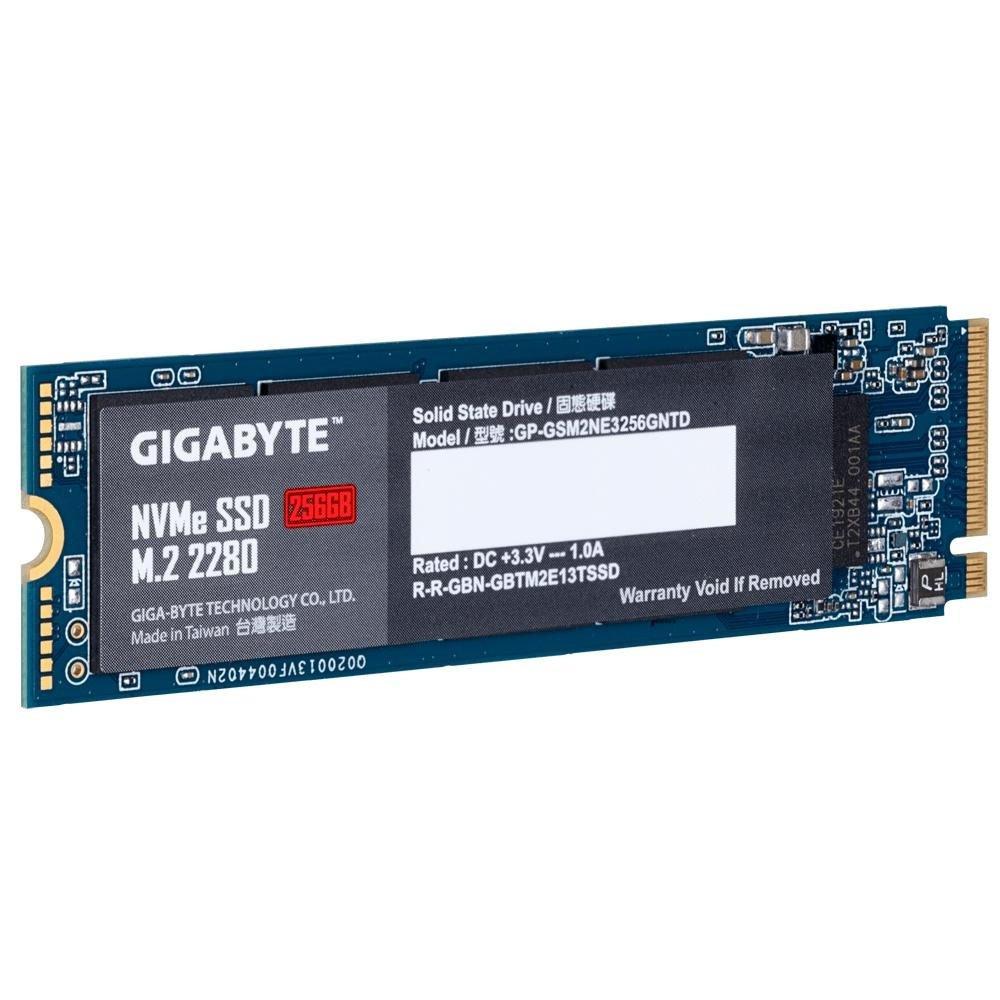 hd sata ssd m2 256gb gigabyte 2280 nvme gsm2ne3256gn 50875 2000 202648 1