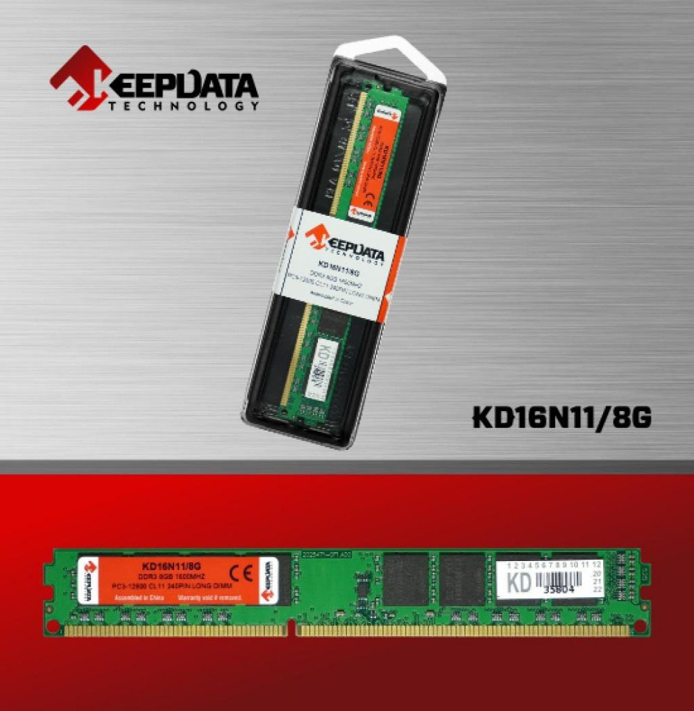 memoria ddr3 8gb pc1600 keepdata kd16n11 8g 50981 2000 203043