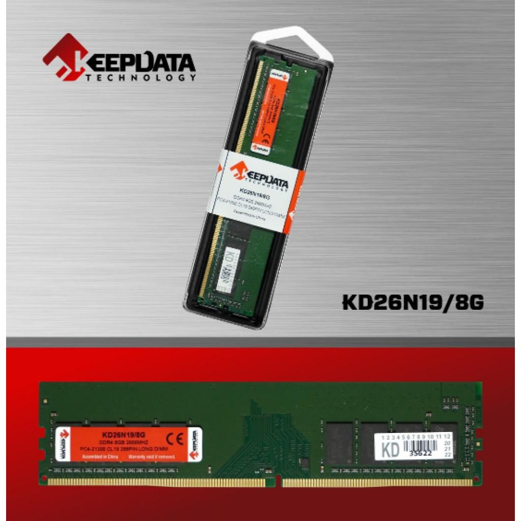 memoria ddr4 8gb pc2666 keepdata kd 51006 2000 203046 1