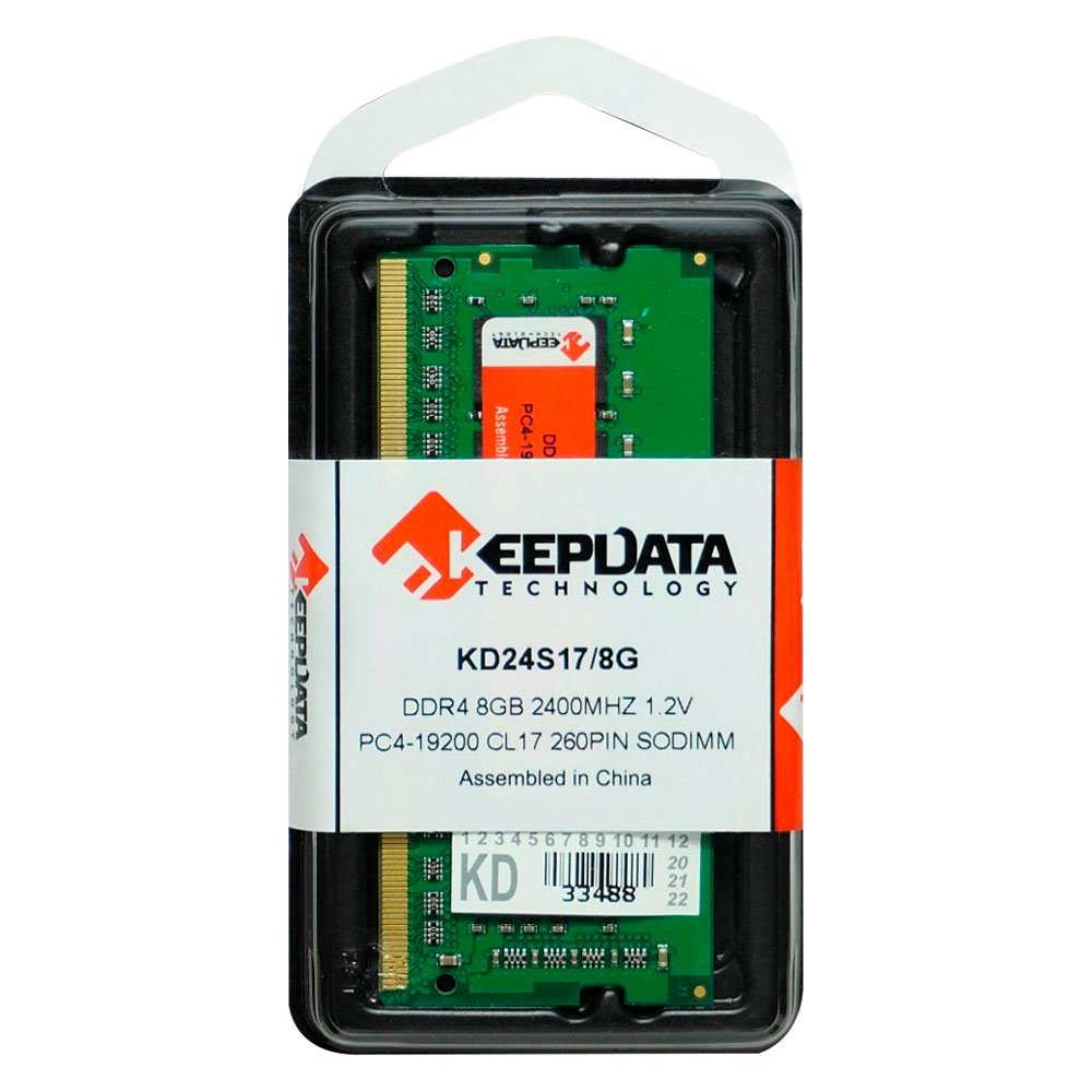 memoria notebook ddr4 8gb pc2400 keepdata kd24s17 8g 50872 2000 202645 1