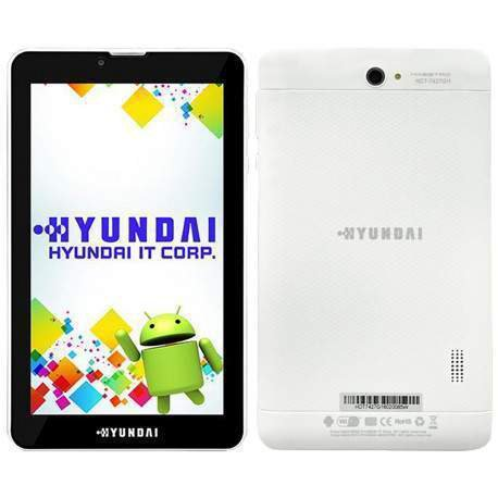 tablet hyndai hdt 7427gh 2 chip quadcore 1gb 8gb 7 polegadas branco 51003 2000 202985 1