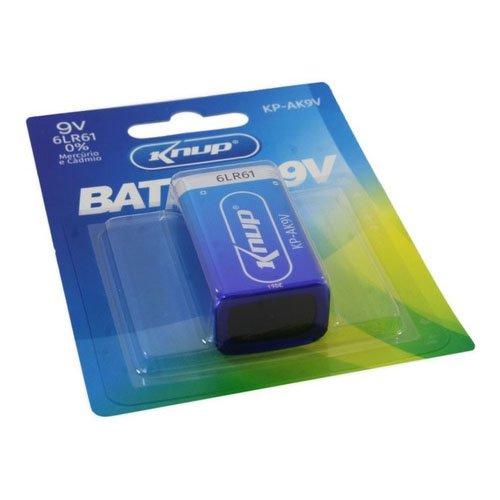 bateria alcalina 9v 6lr61 kp ak9v knup 51091 2000 203274 4