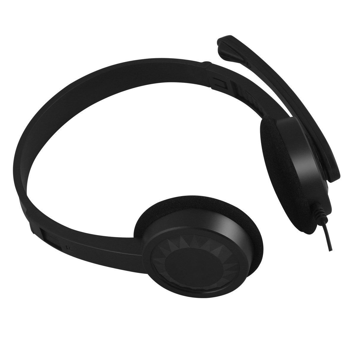 fone de ouvido com microfone ph 02bk preto c3 plus 51113 2000 203321