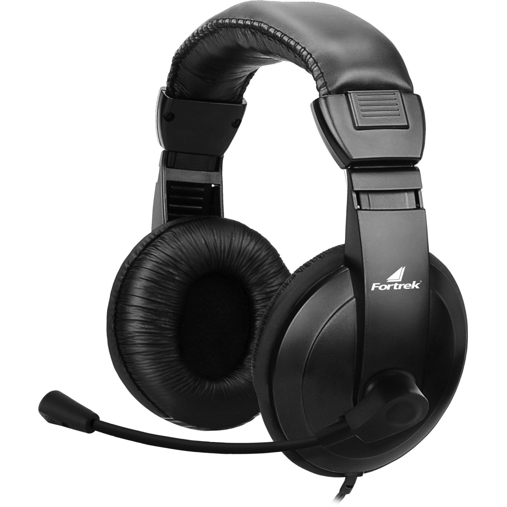 fone de ouvido extra fortrek hsl 102 preto com microfone 45066 2000 193351 1