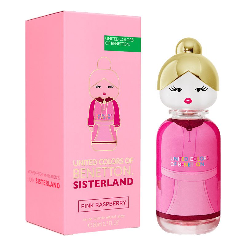 perfume benetton sisterland pink raspberry feminino 80 ml 51067 2000 203194 4