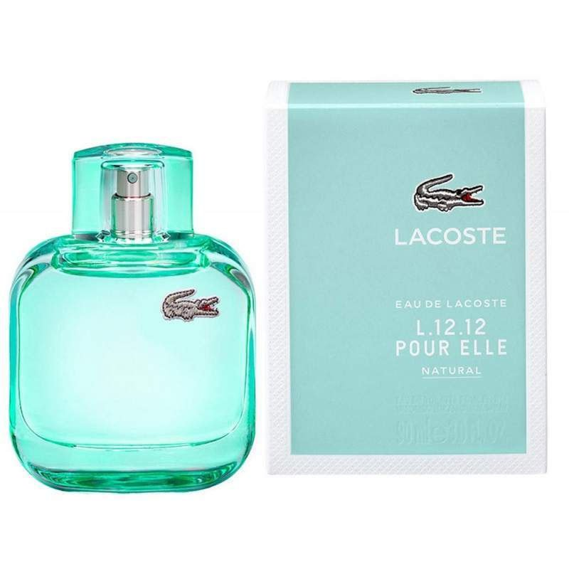 perfume lacoste pour elle natural feminino edt 90 ml 51112 2000 203285