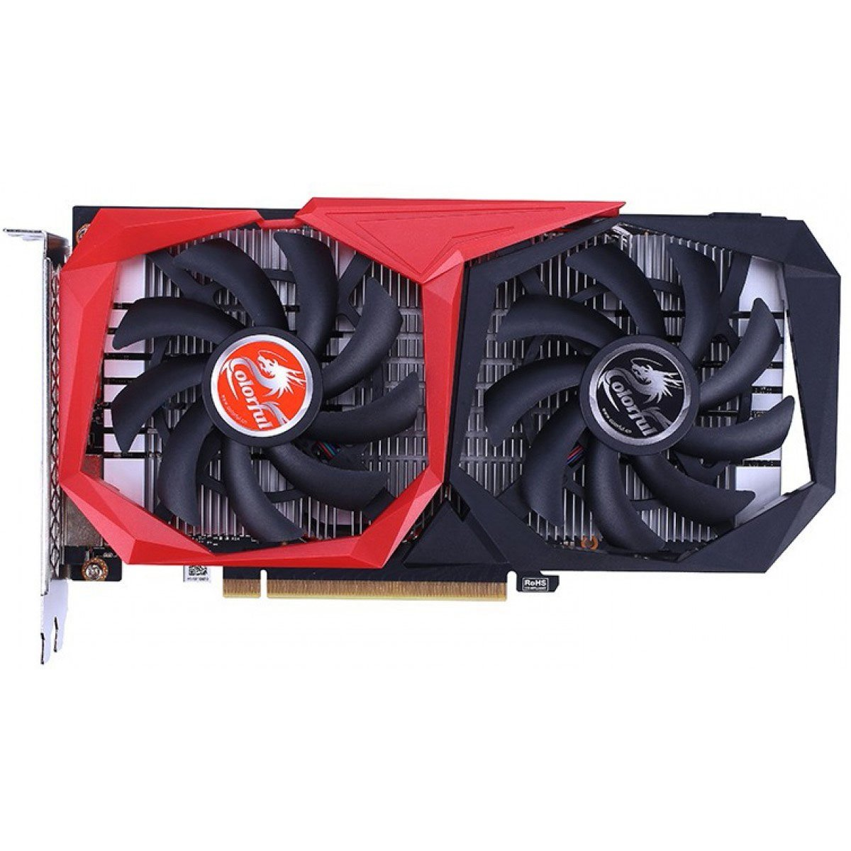 placa de video 4gb gtx1650 colorful super dual gf nvidia 1725mhz hdmi dvi disp gddr6 51081 2000 203447