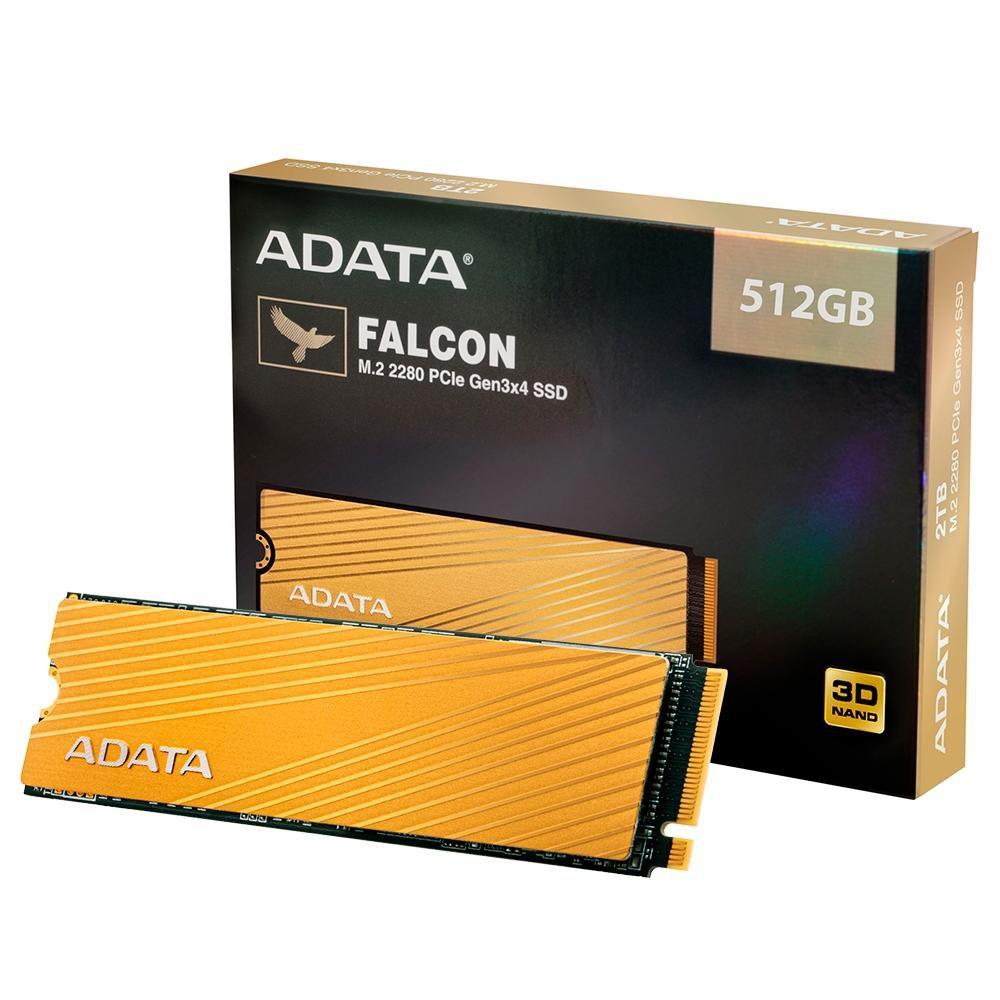 hd sata ssd m2 512gb nvme adata falcon m2 2280 pcle 51246 2000 203575 1