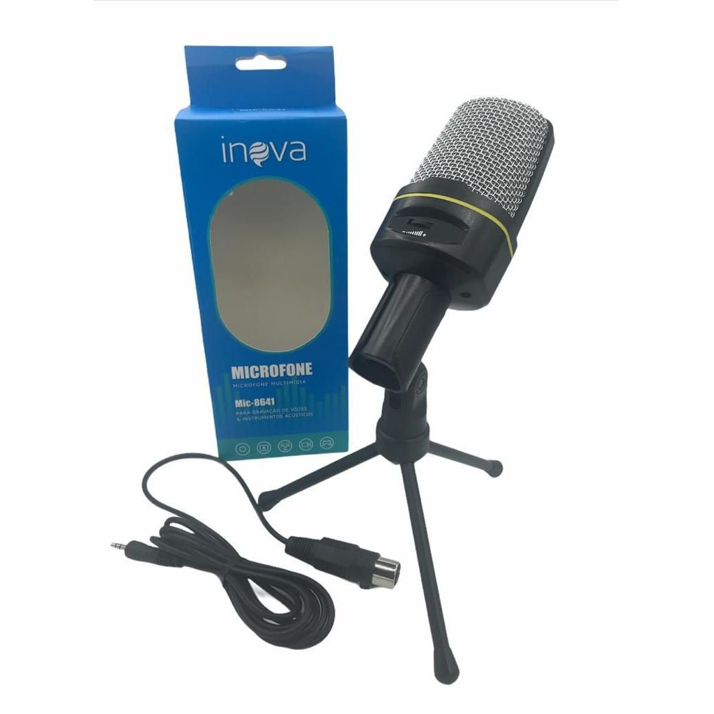 microfone gamer p2 mic 8641 inova preto 51202 2000 203523 1