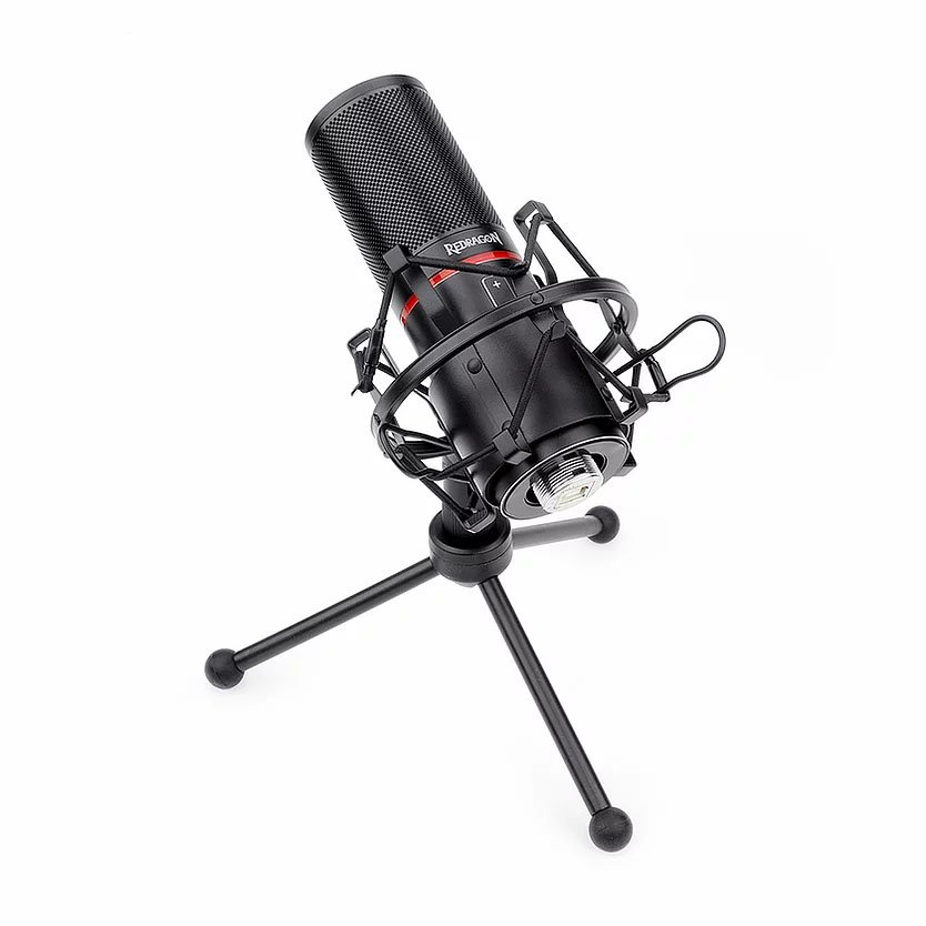 microfone gamer usb redragon blazar gm300 51150 2000 203365