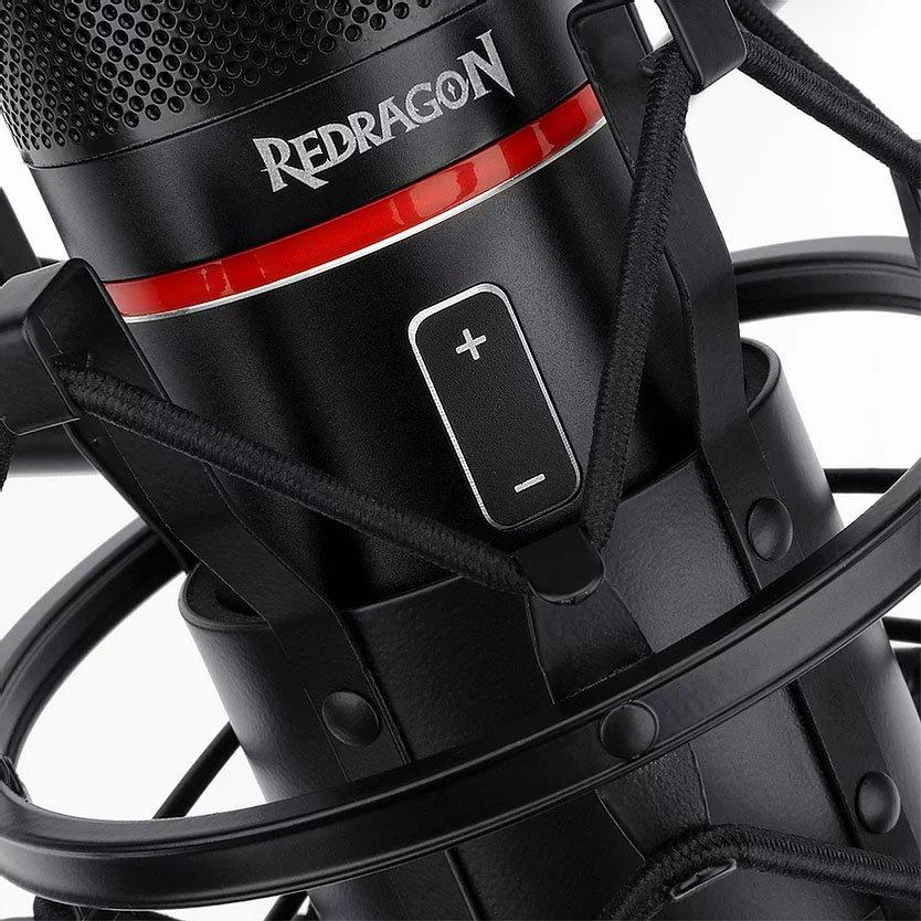 microfone gamer usb redragon blazar gm300 51150 2000 203369