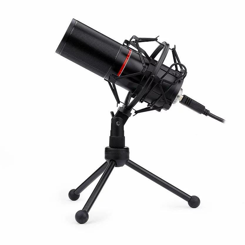 microfone gamer usb redragon blazar gm300 51150 2000 203371