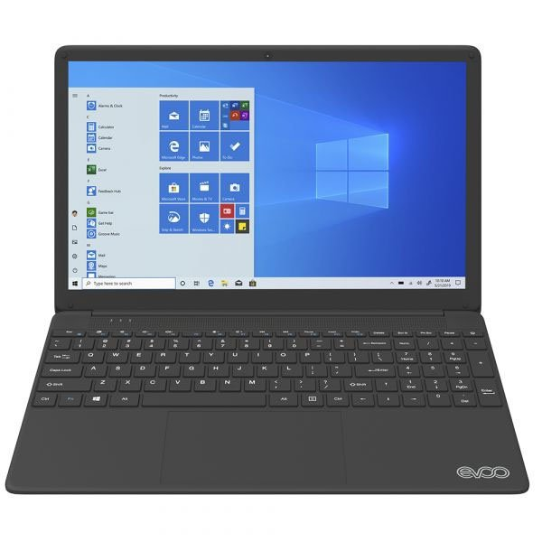 notebook evoo ultra thin evc156 2bk intel i7 7560u 8gb 256ssd 156 preto w10 51146 2000 203412 1