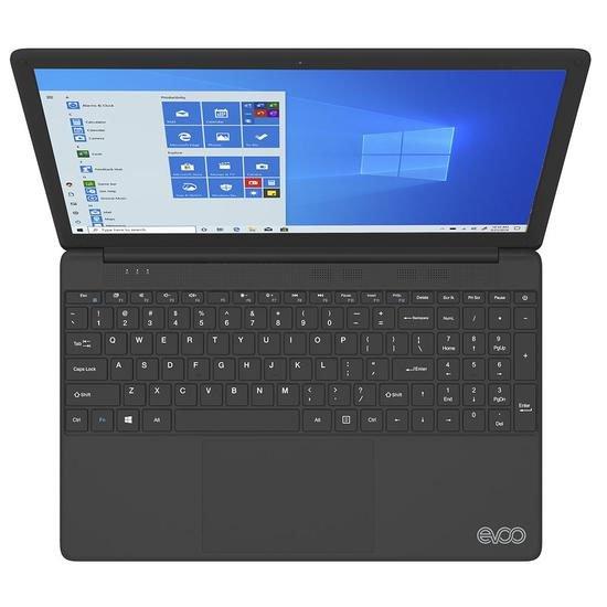 notebook evoo ultra thin evc156 2bk intel i7 7560u 8gb 256ssd 156 preto w10 51146 2000 203413