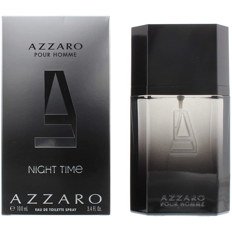 perfume azzaro night time masculino edt 100 ml 51130 2000 203352