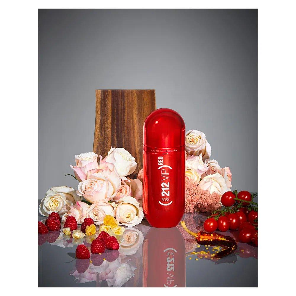 perfume carolina herrera 212 vip red rose feminino edp 80 ml 51178 2000 203509