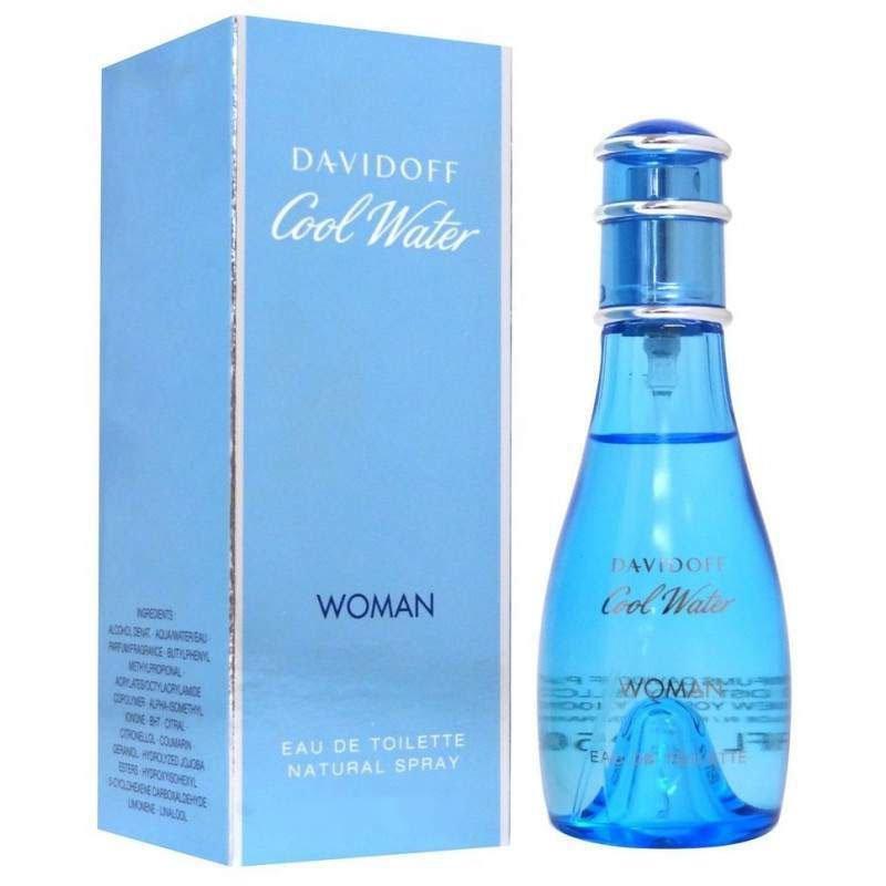 perfume davidoff cool water feminino edt 100 ml 51133 2000 203384
