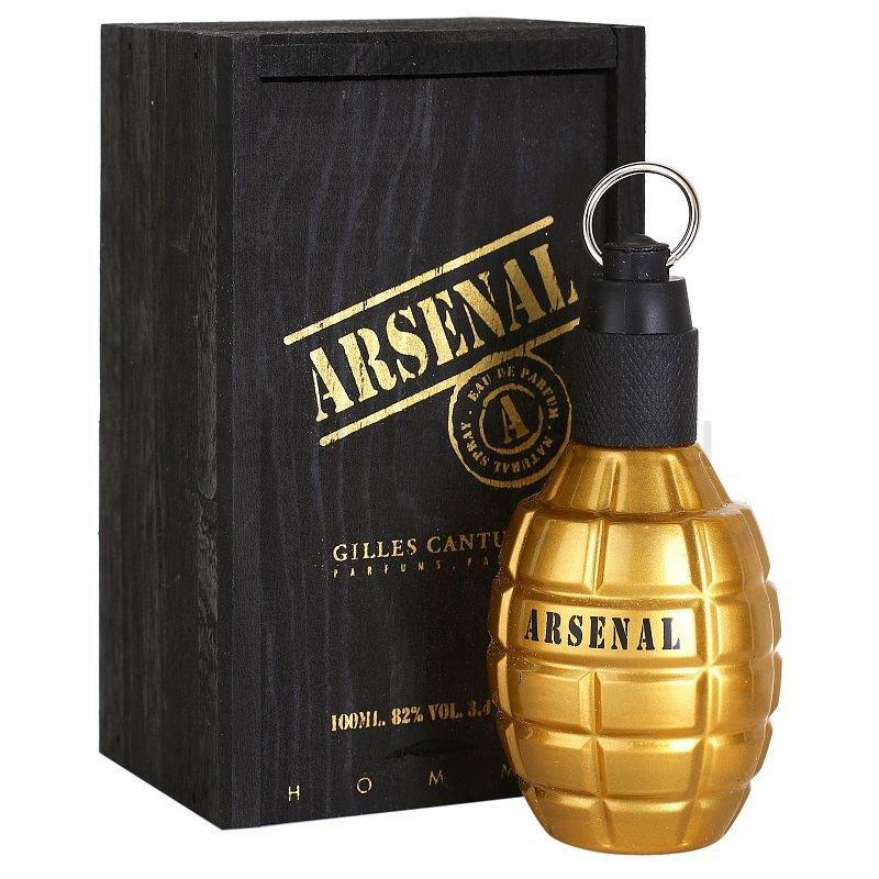 perfume gilles cantuel arsenal gold masculino edp 100 ml 48800 2000 199625 1