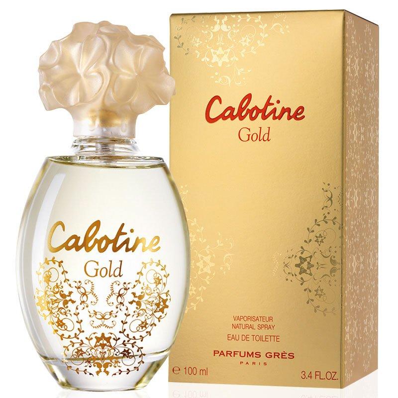 perfume gres cabotine gold feminino edt 100 ml 51139 2000 203393