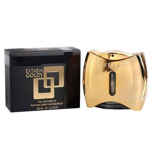 perfume new brand extasia gold feminino edt 100 ml 51149 2000 203425